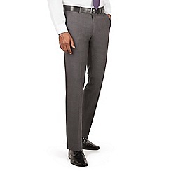 J by Jasper Conran - J by Jasper Conran J by Jasper Conran Charcoal flat front slim fit italian suit trouser