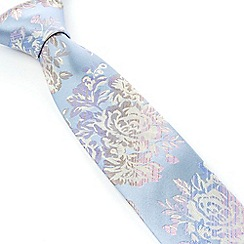 Stvdio by Jeff Banks - Studio by Jeff Banks Light Blue Graduated Rose Tie