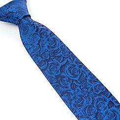 Stvdio by Jeff Banks - Blue Digital Rose Tie