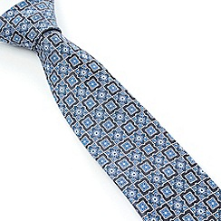 Stvdio by Jeff Banks - Studio by Jeff Banks Grey Floral Tile Tie