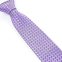 Stvdio by Jeff Banks - Studio by Jeff Banks Lilac Micro Triangles Tie
