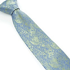 Stvdio by Jeff Banks - Studio by Jeff Banks Light Green Etched Garden Tie