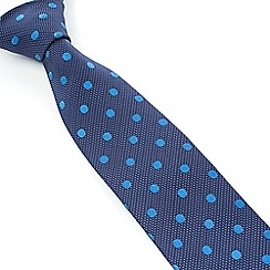 Stvdio by Jeff Banks - Studio by Jeff Banks Navy Dots Tie