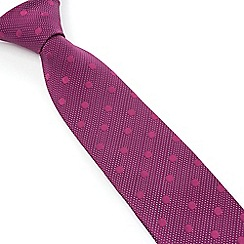Stvdio by Jeff Banks - Studio by Jeff Banks Magenta Dots Tie