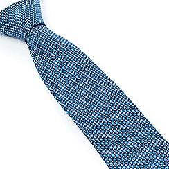 Stvdio by Jeff Banks - Studio by Jeff Banks Aqua Micro Flower Tie