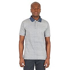 Racing Green - Native Paisley Print Polo