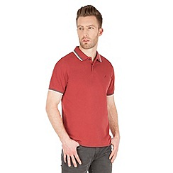 Racing Green - Clement Tipped Pique Polo