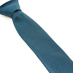 Racing Green - Dawson Semi Plain Silk Tie