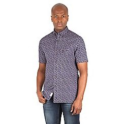 Racing Green - Graff Pineapple Print Shirt