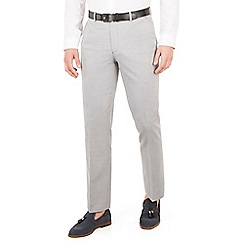 J by Jasper Conran - J by Jasper Conran Light blue plain front tailored fit summer suit trousers