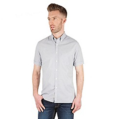 Racing Green - General Broken Stripe Short Sleeved Shirt