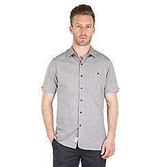 Racing Green - Goldman Grey Chambray Shirt