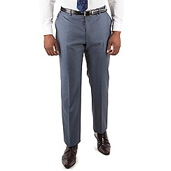 Centaur Big & Tall - Centaur Big & Tall Petrol pick and pick big and tall suit trouser