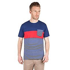 Racing Green - Sanchez Stripe and Pocket T Shirt