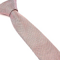 Racing Green - Census Small Geo Silk Tie