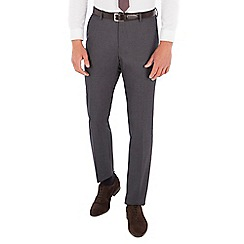 Red Herring - Charcoal textured slim fit trouser