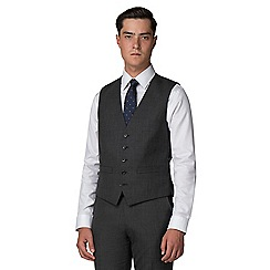 Racing Green - Charcoal pick and pick waistcoat