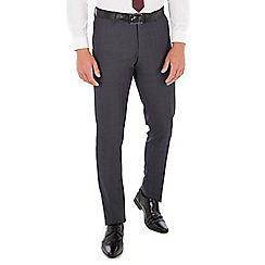 Red Herring - Grey jaspe check slim fit trouser