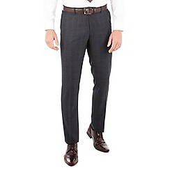 Red Herring - Navy heritage check slim fit trouser