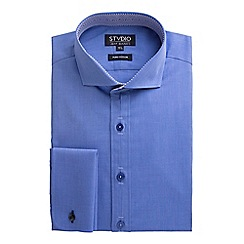 Stvdio by Jeff Banks - Blue End on End Shirt