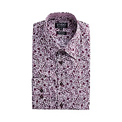 Stvdio by Jeff Banks - Mulberry print shirt