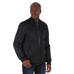 Racing Green - Oxford Quilted Bomber Jacket