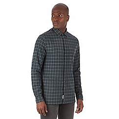 Racing Green - Gerry Brushed Check Long Sleeve Shirt