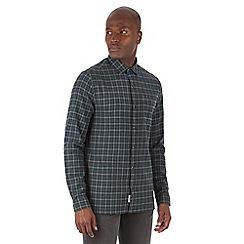 Racing Green - Gerry Brushed Check Long Sleeve Shirt