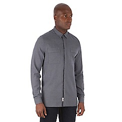 Racing Green - Writer Puppytooth Check Long Sleeve Shirt