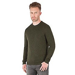 Racing Green - Watt Lambswool Blend Crew Neck