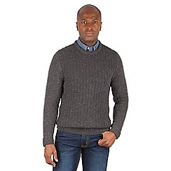 Racing Green - Harbour Nep Cable Knit