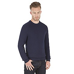 Racing Green - Report Textured Crew Neck Knit