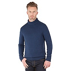 Racing Green - Scott Lambswool Polo Neck Knit