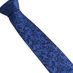 Stvdio by Jeff Banks - Navy Ornate Tie