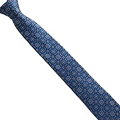 Stvdio by Jeff Banks - Teal deco tie