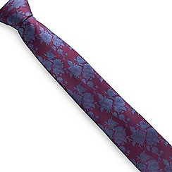 Stvdio by Jeff Banks - Wine Floral Tie