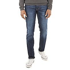 Racing Green - Dene Straight Stonewash Jean