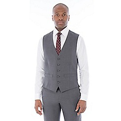 The Collection - Grey broken check waistcoat
