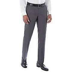 The Collection - Grey semi plain tailored trouser
