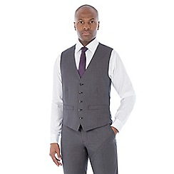 The Collection - Grey semi plain waistcoat
