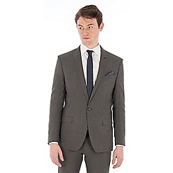 Red Herring - Grey broken check slim fit suit