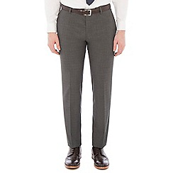 Red Herring - Grey broken check slim trousers