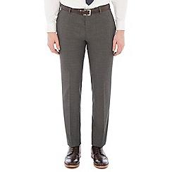 Red Herring - Grey broken check slim trousers