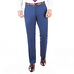 Ben Sherman - Bright blue pure new wool slim fit kings suit trouser