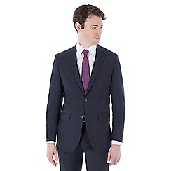 The Collection - Blue stripe regular fit suit