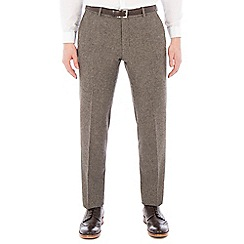 Red Herring - Oatmeal donegal slim trouser