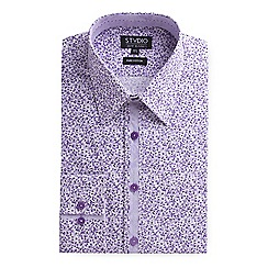 Stvdio by Jeff Banks - Lilac ditsy print shirt