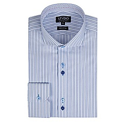 Stvdio by Jeff Banks - Light blue stripe shirt