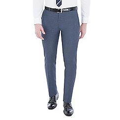 Red Herring - Blue jaspe skinny fit trousers