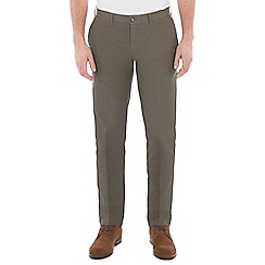 Jeff Banks - Green twill chino trouser